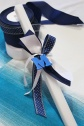 palm sunday candle:initials|marmite et ponpon