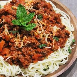 spaghetti marinara |marmite et ponpon