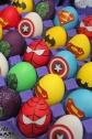 superheroes Easter eggs| marmite & ponpon