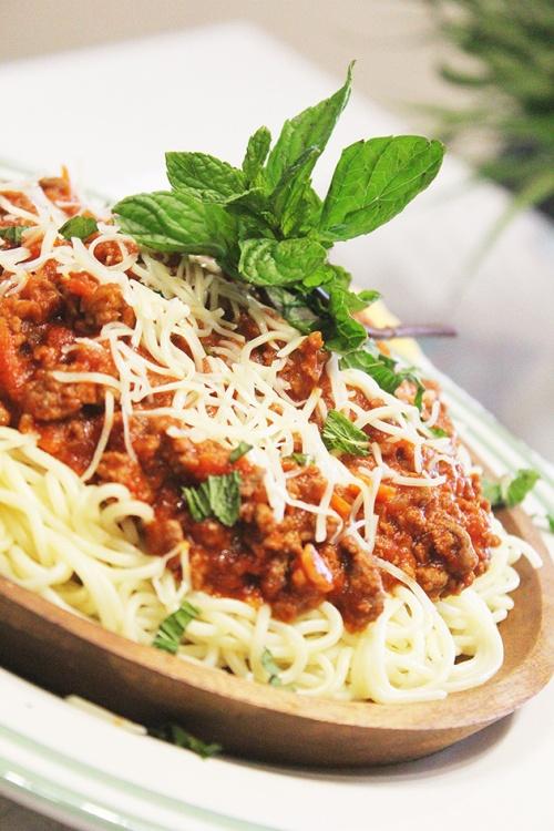 the spaghetti marinara | marmite et ponpon