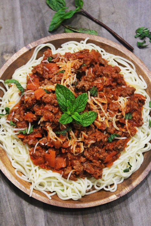 the spaghetti marinara|marmite et ponpon