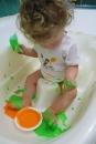 1-finger paint - sensory play|marmite et ponpon