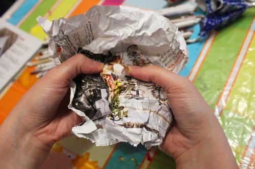 15-Magazine flowers & food jar vase - recycling craft|marmite et ponpon
