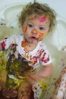 4-finger paint - sensory play|marmite et ponpon