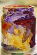 7-Magazine flowers & food jar vase - recycling craft|marmite et ponpon