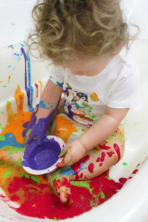 finger paint |marmite et ponpon