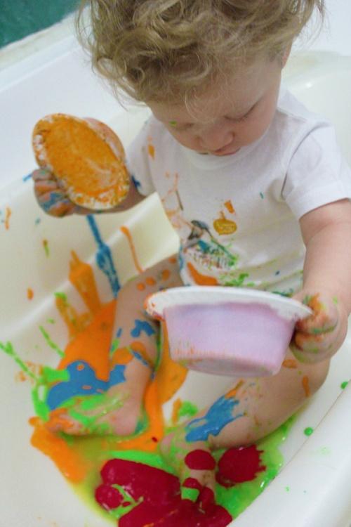 finger paint | marmite et ponpon