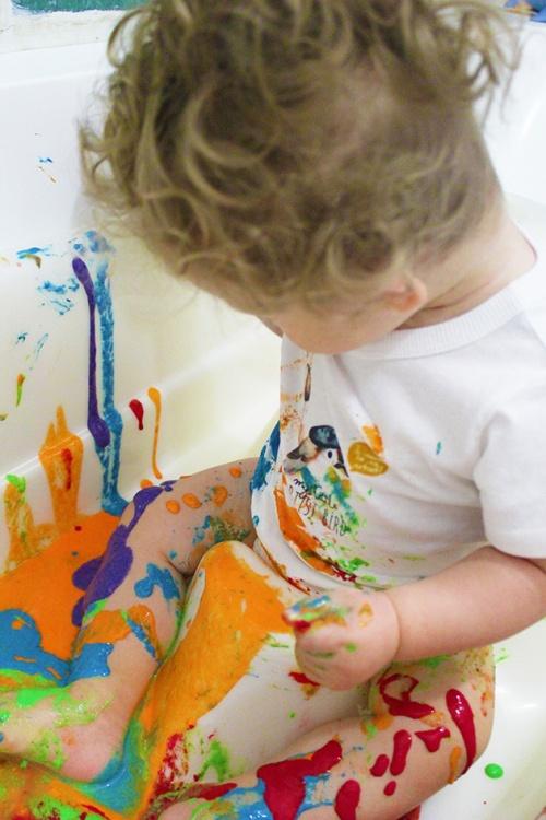 finger paint|marmite et ponpon