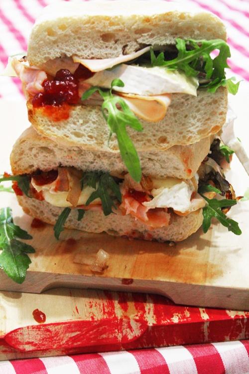 turkey and brie cranwich| marmite et ponpon