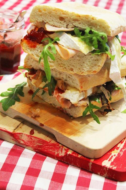 turkey and brie cranwich | marmite et ponpon
