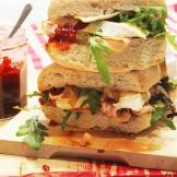 turkey and brie cranwich|marmite et ponpon