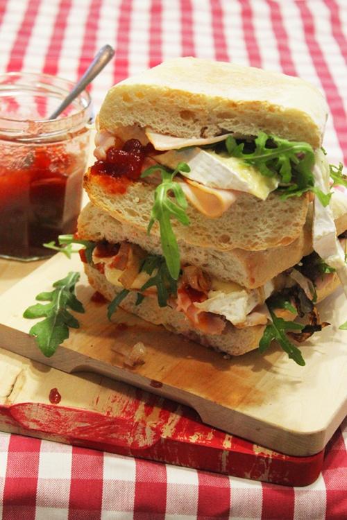 turkey & brie cranwich|marmite et ponpon