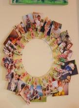 5- clothpins wall frame DIY|marmite et ponpon