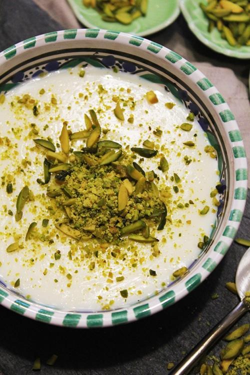 achtalyeh - cream pudding|marmite et ponpon