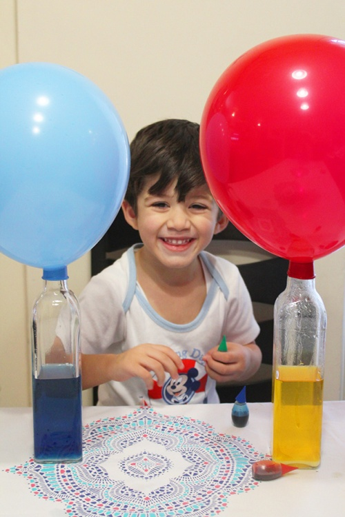 Fun science project with balloons|marmite et ponpon
