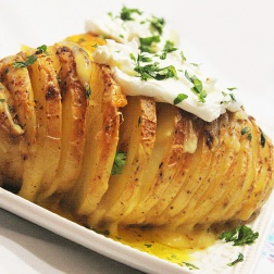 Hasselback potatoes| marmite et ponpon