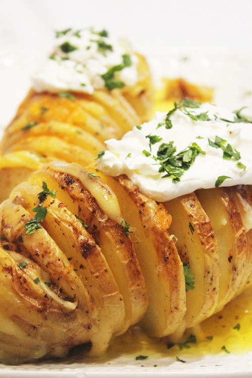 Hasselback potatoes  |marmite et ponpon