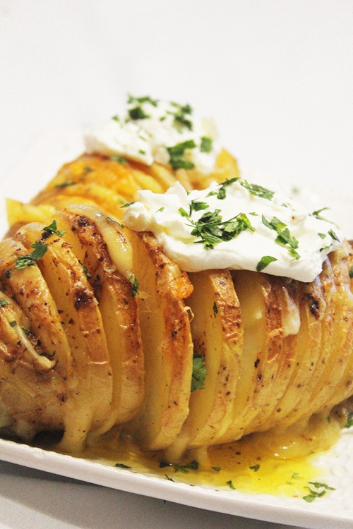 hasselback potatoes|marmite et ponpon