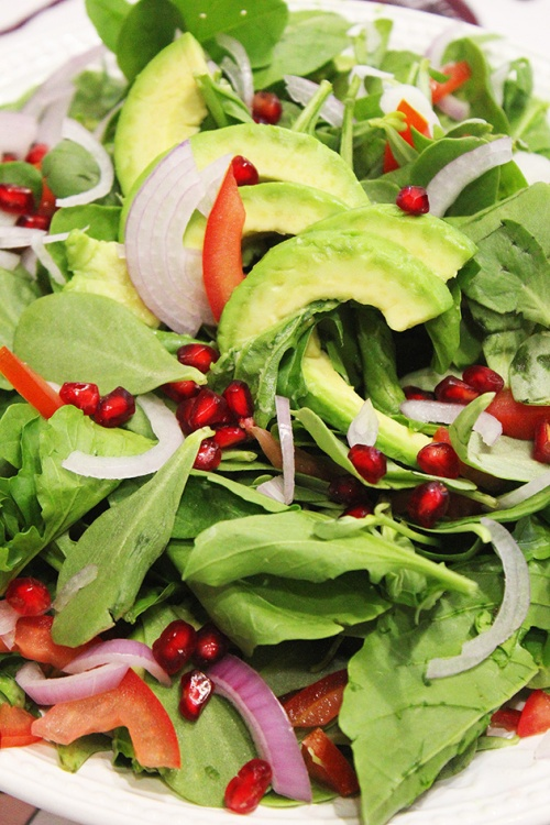 purslane, avocado & rocket salad |marmite et ponpon