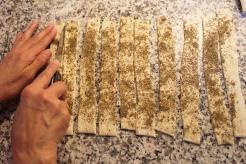 1-zaatar(thyme) and cheese straws |marmite et ponpon