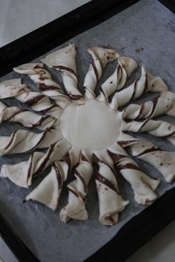 8- le Soleil nutella puff pastry|marmite et ponpon