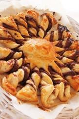 le Soleil nutella puff pastry|marmite et ponpon