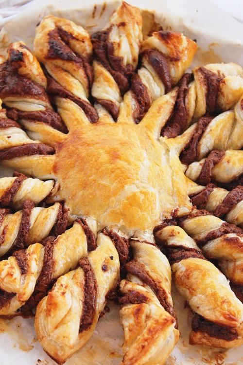 sunny nutella puff pastry|marmite et ponpon