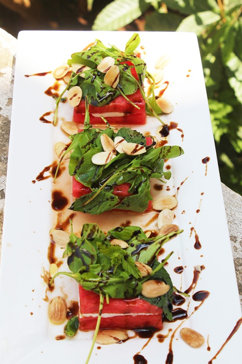 Watermelon & bulgarian cheese|marmite et ponpon