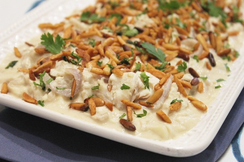 fish tagine in tahina sauce |marmite et ponpon