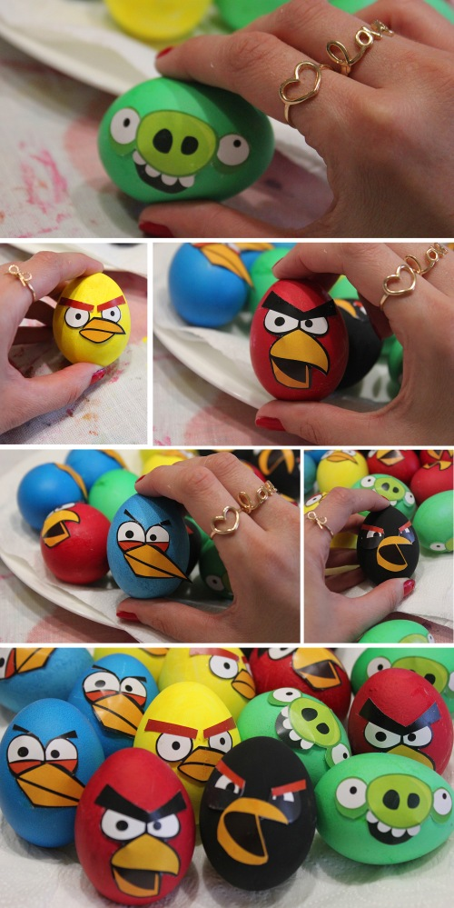 how to do easter eggs angry birds |marmite et ponpon