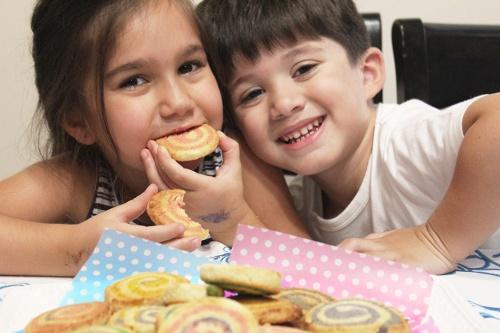 spiral butter cookies - mini che|marmite et ponpon