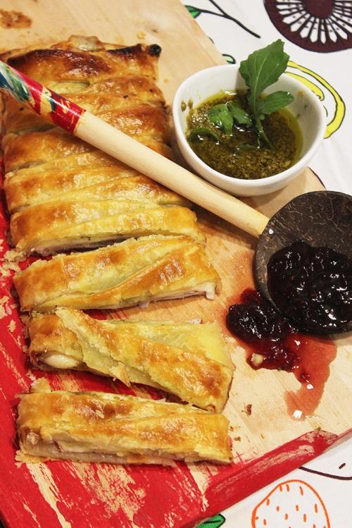 turkey and mozzarella herbs|marmite et ponpon