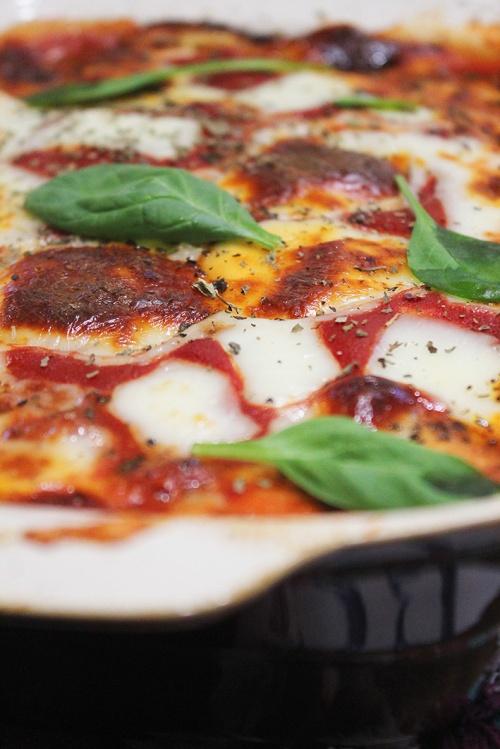 parmigiana di melanzane|marmite et ponpon