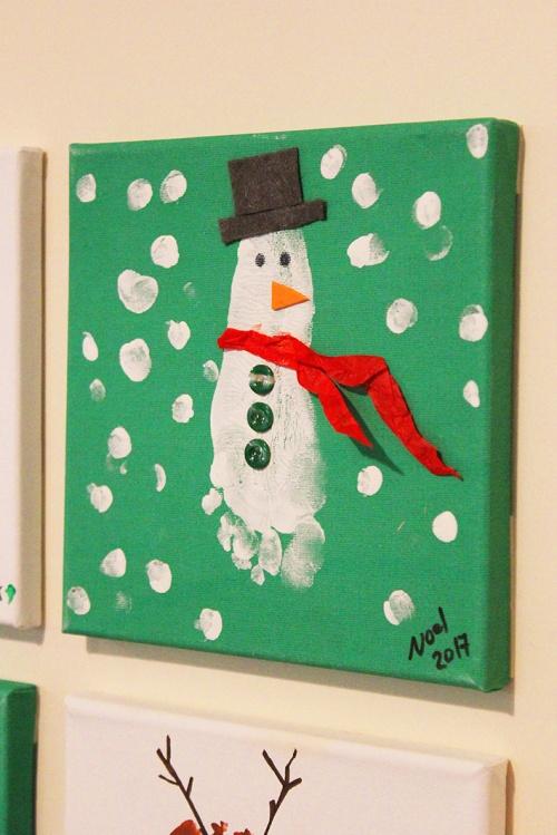 4-handprint and footprint for christmas keepsakes |marmite et ponpon