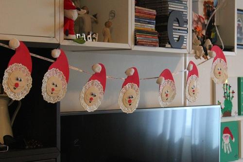 lace doily Santa Claus |marmite et ponpon