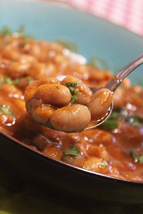 Vegan Heirloom beans - lebanese fasoulia bi zeit|marmite et ponpon|marmite et ponpon