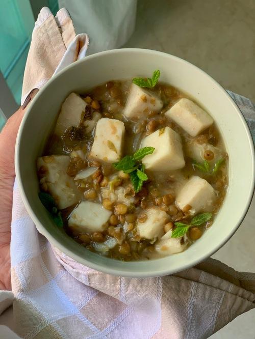 colocasia|marmite et ponpon